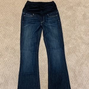 Paige bootcut maternity jeans